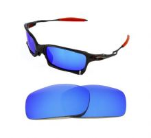 NEW POLARIZED CUSTOM ICE BLUE LENS FOR OAKLEY X SQUARED SUNGLASSES